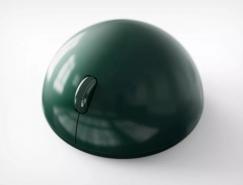 設計獨特的半球形鼠標