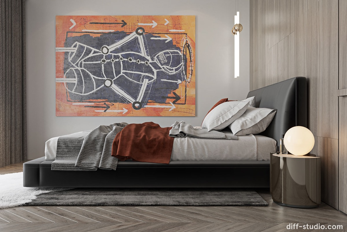 充满年轻个性的豪华现代家居室内设计