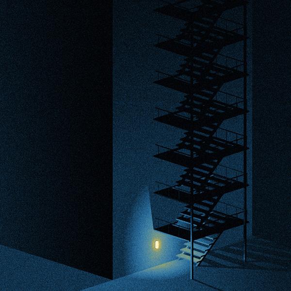城市之光:Ivo van de Grift插画作品欣赏