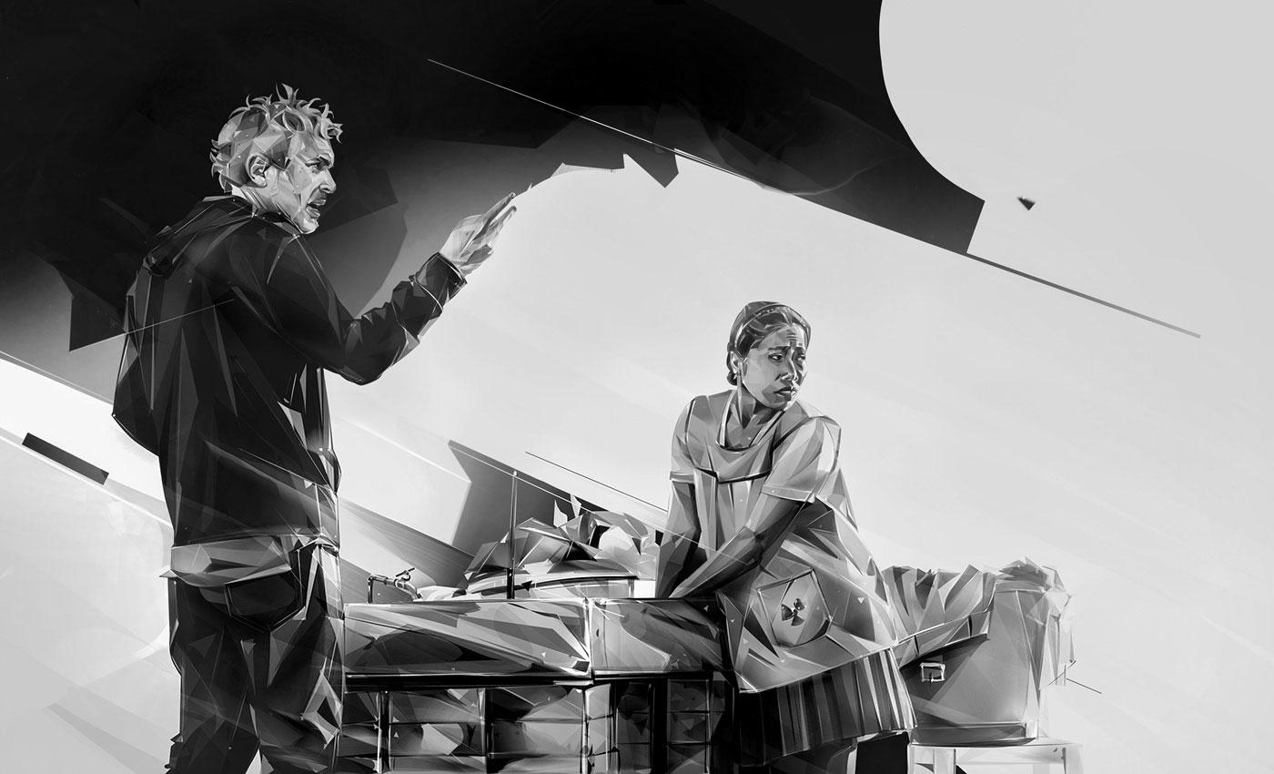 Denis Gonchar创作的2019年奥斯卡最佳提名影片插画皇冠新2网
