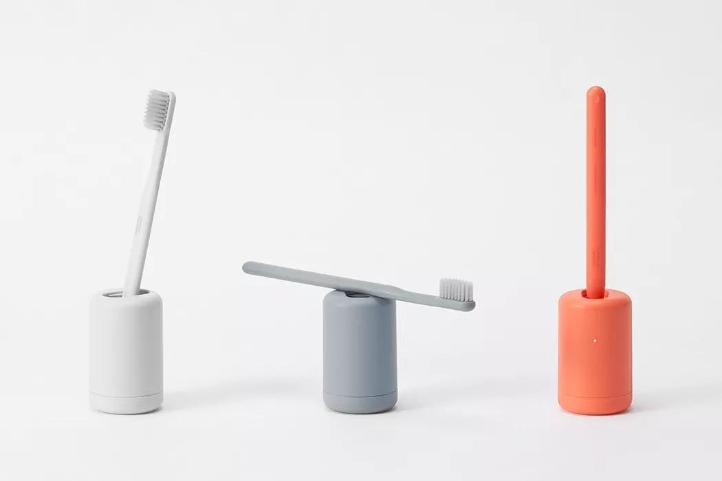 可消毒无线充电的牙刷套装
