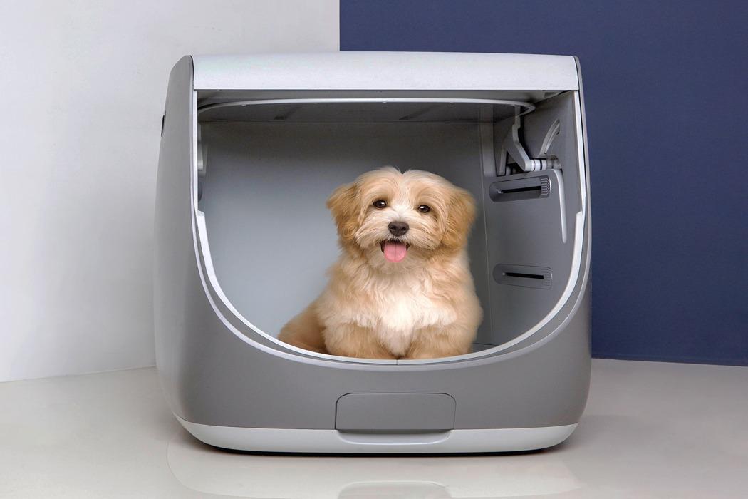 专门为宠物皇冠新2网的一体化浴室