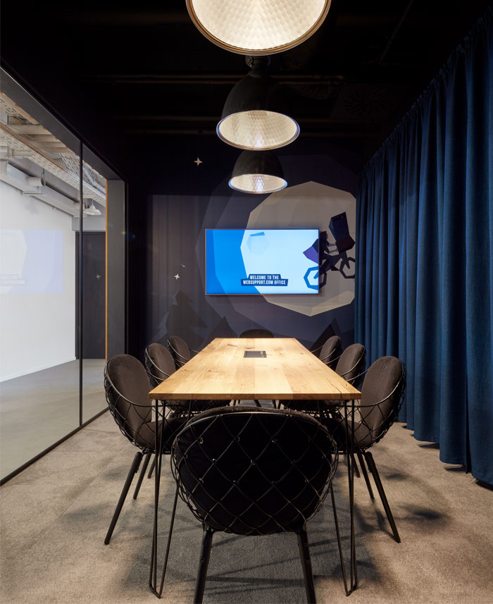 IT公司WebSupport前卫自由的办公空间