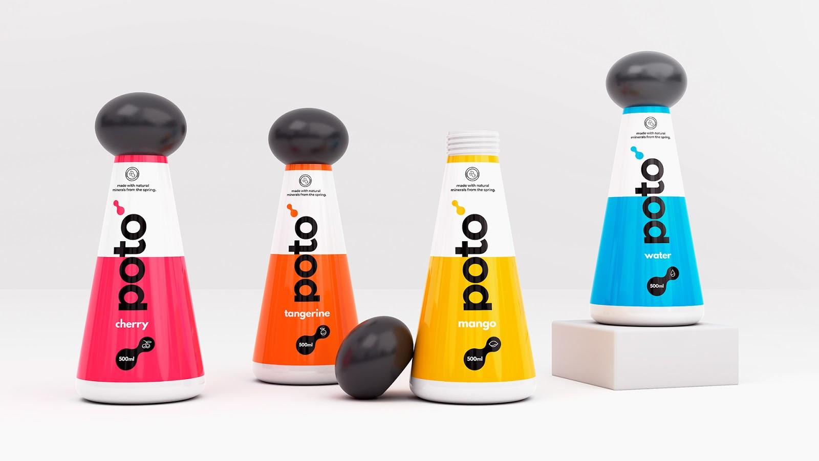 Poto饮料包装设计