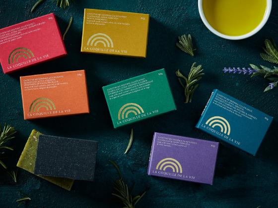 La Coquille De La Vie香皂包装设计
