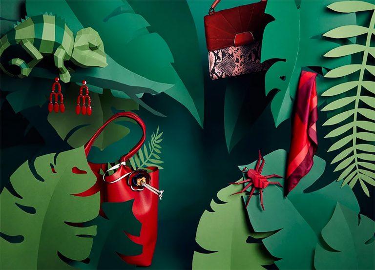 Maren Schabhüser纸艺作品和布景设计