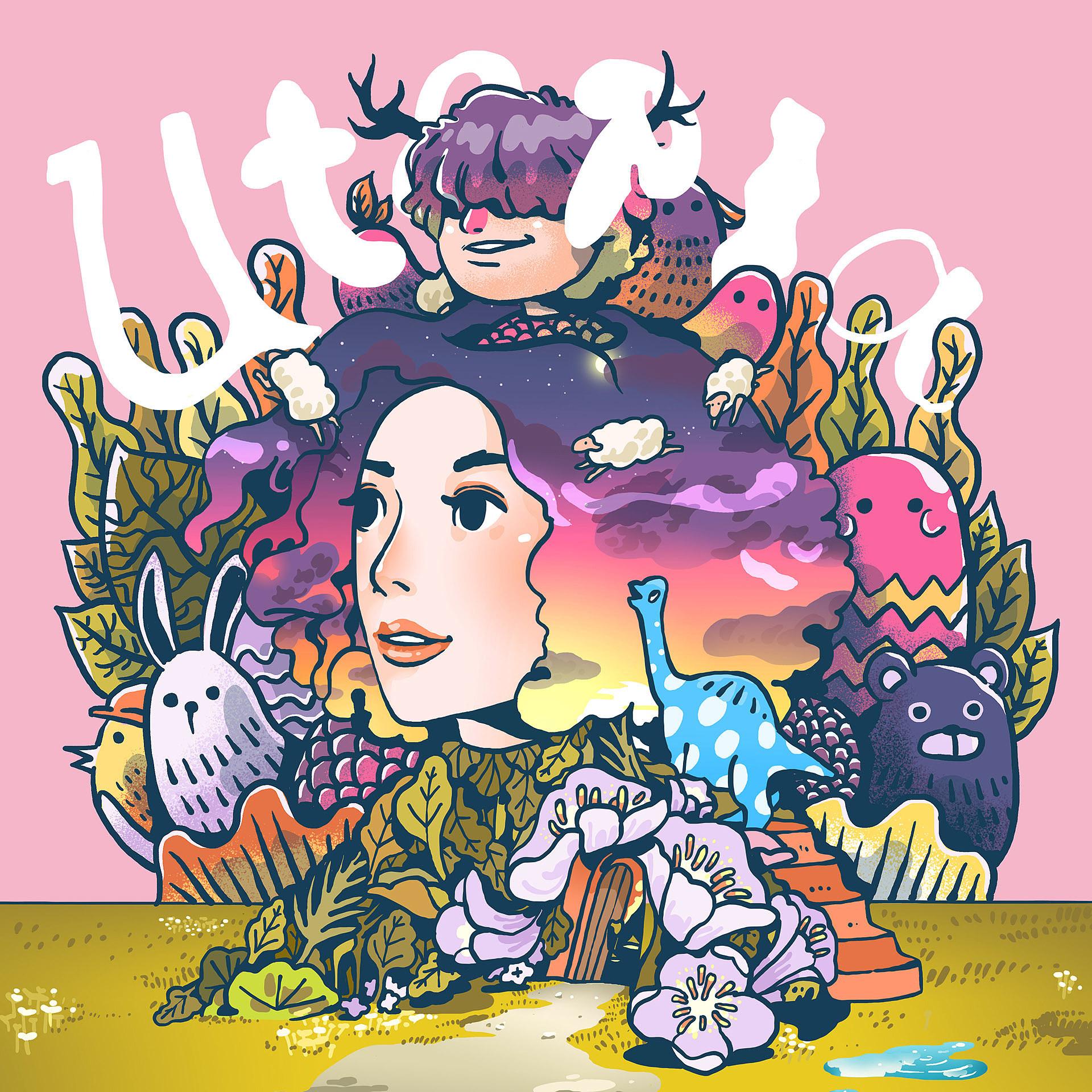 舒服的配色和线条:印尼插画师Isa Panic Monsta作品欣赏