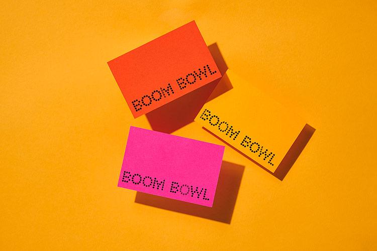 外卖餐厅Boom Bowl品牌Vi设计