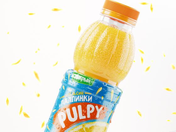 Pulpy果汁饮料包装设计