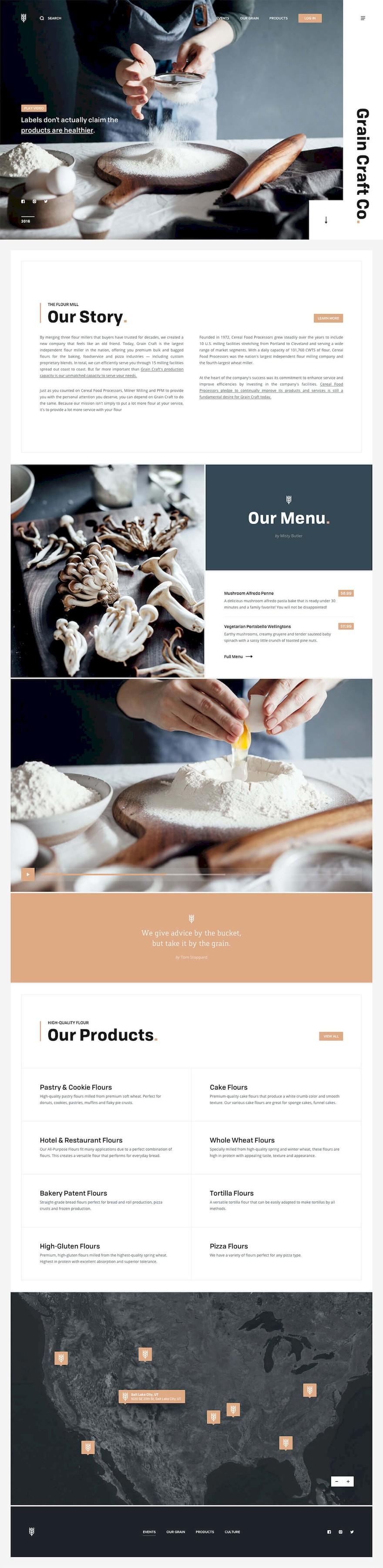 12个美食网页设计欣赏