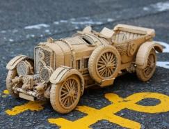 日本艺术家Monami Ohno硬纸板玩出新境界