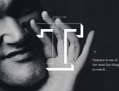 Q. Tarantino:杂志版式风格的网页设计