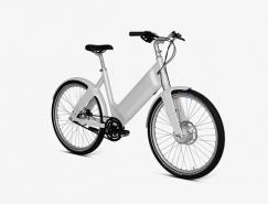 簡潔斯堪的納維亞風輕型電動自行車