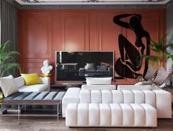 高级灰+橙:奢华优雅的豪宅皇冠新2网