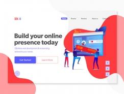 50个用户体验出众的Web UI概念设计