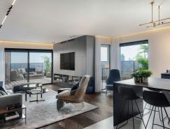 以色列L.S HOUSE顶层公寓设计