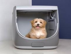 专门为宠物设计的一体化浴室