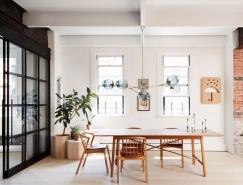 纽约Hudson Loft北欧工业风公寓