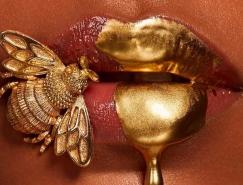 嘴唇就是畫布:彩妝藝術家Vlada Haggerty嘴唇上的藝