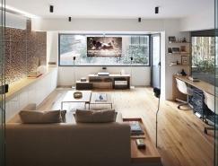 一个家和公共艺术画廊:Studio Loft摄影工作室空间