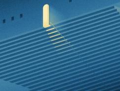 城市之光:Ivo van de Grift插画澳门金沙网址欣赏