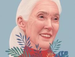 Mercedes deBellard人物插画作品欣赏