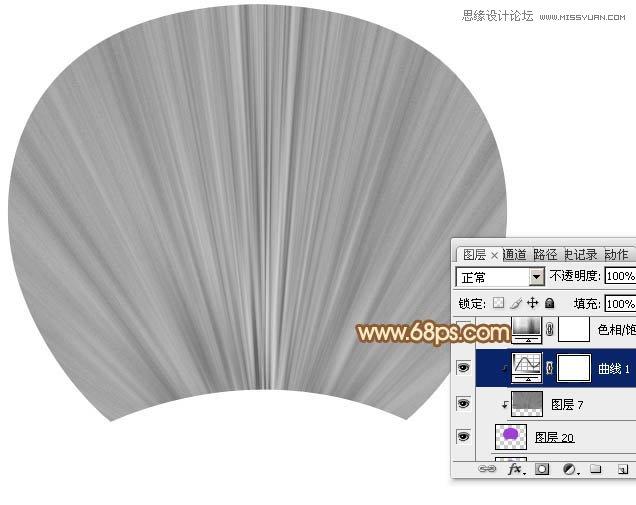 Photoshop滤镜制作传统棕扇