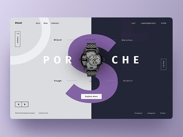 50个国外创意着陆页设计