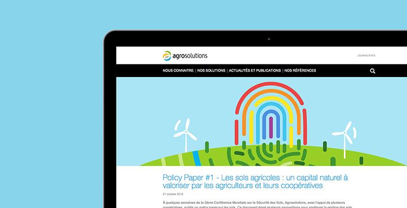 农业咨询公司AgroSolutions品牌VI设计