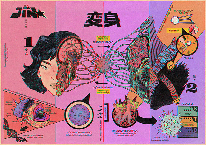 25个动漫风格插画作品欣赏