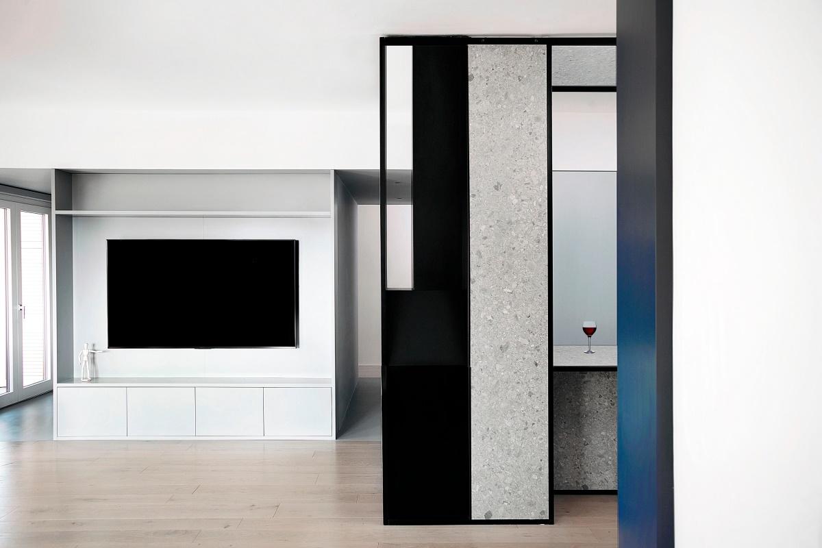 意大利110平米公寓改造