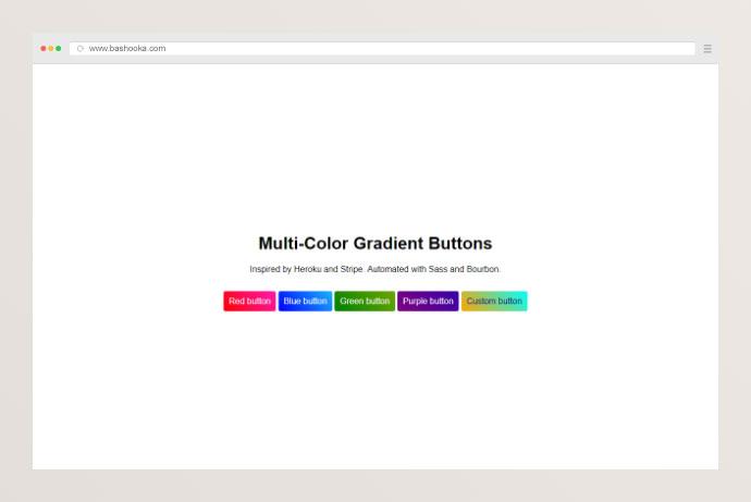 27个超酷的CSS渐变色按纽皇冠新2网