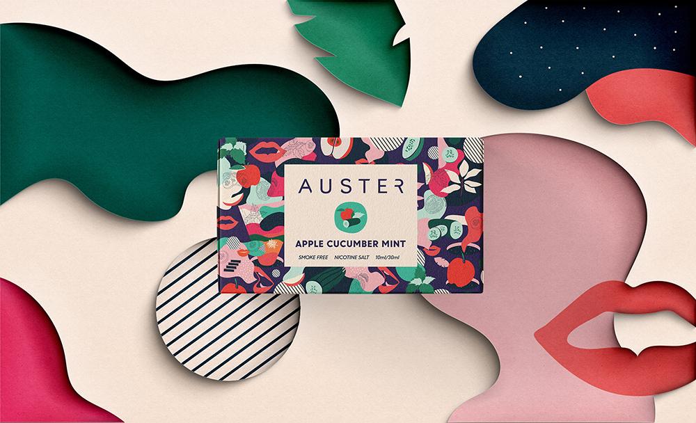 Auster电子烟包装设计