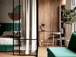 艺术时尚的50平米L2公寓设计