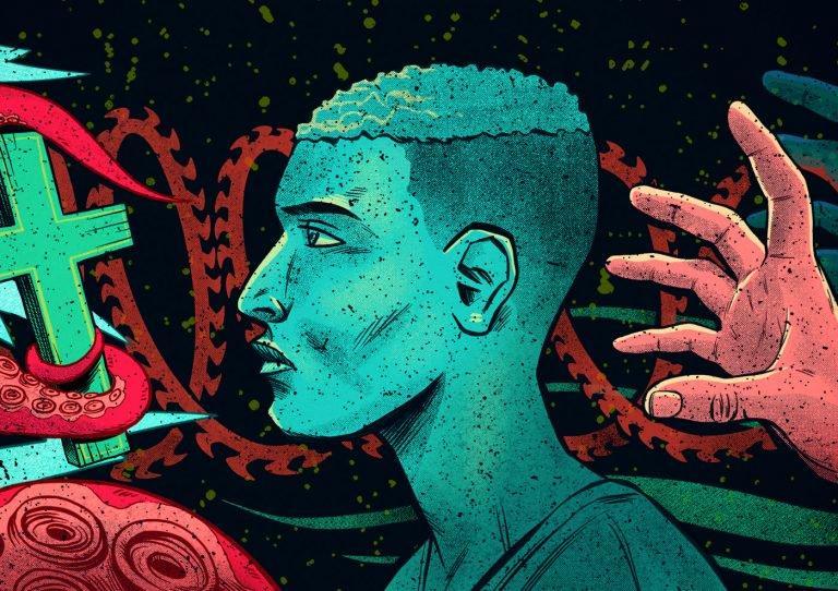 Pedro Correa前卫另类风格插画作品