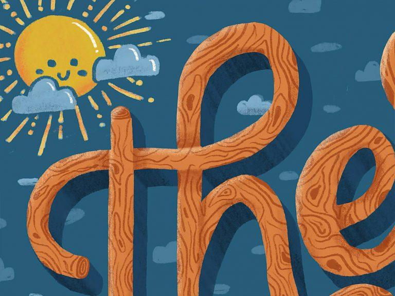 Anna Dittmer创意字体排版插画作品