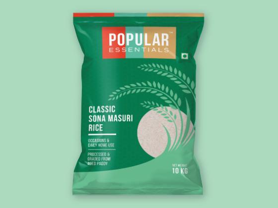 Popular Essentials大米包装设计