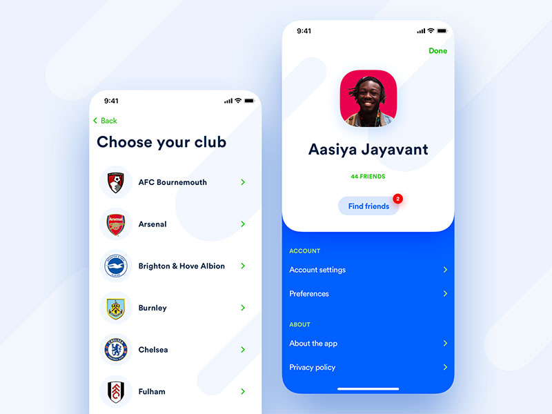 app设置页面设计欣赏