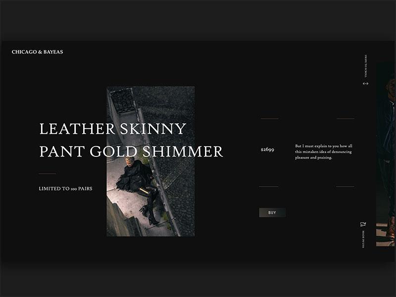 超酷的高级黑网页设计作品