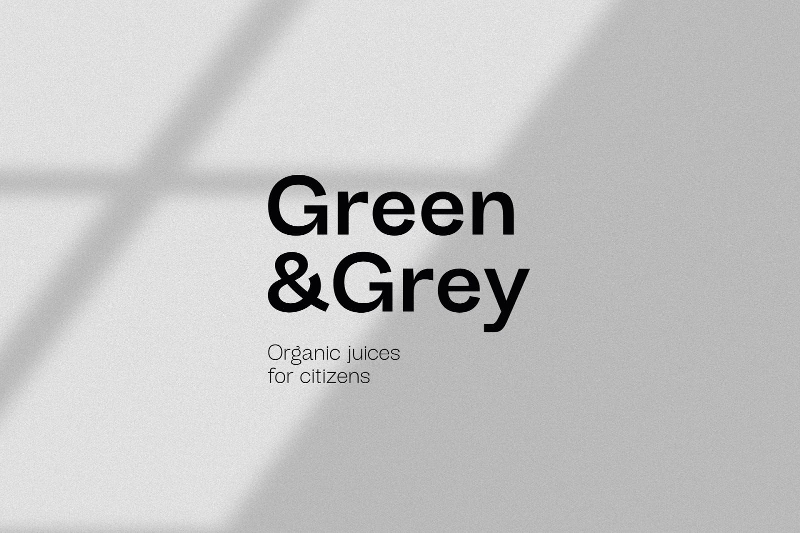 Green&Grey果汁包装