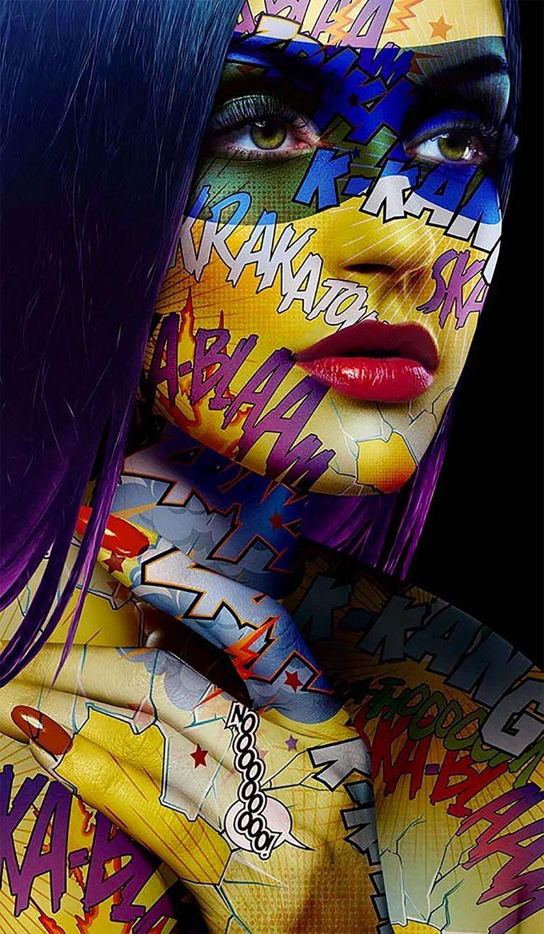 游戏资讯_Monika Nowak:漫画和肖像结合的拼贴画设计 - 设计之家