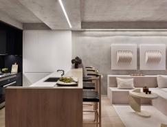 紐約64㎡混凝土公寓設計