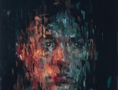 Kai Samuels-Davis富有表現力的抽象肖像畫作品