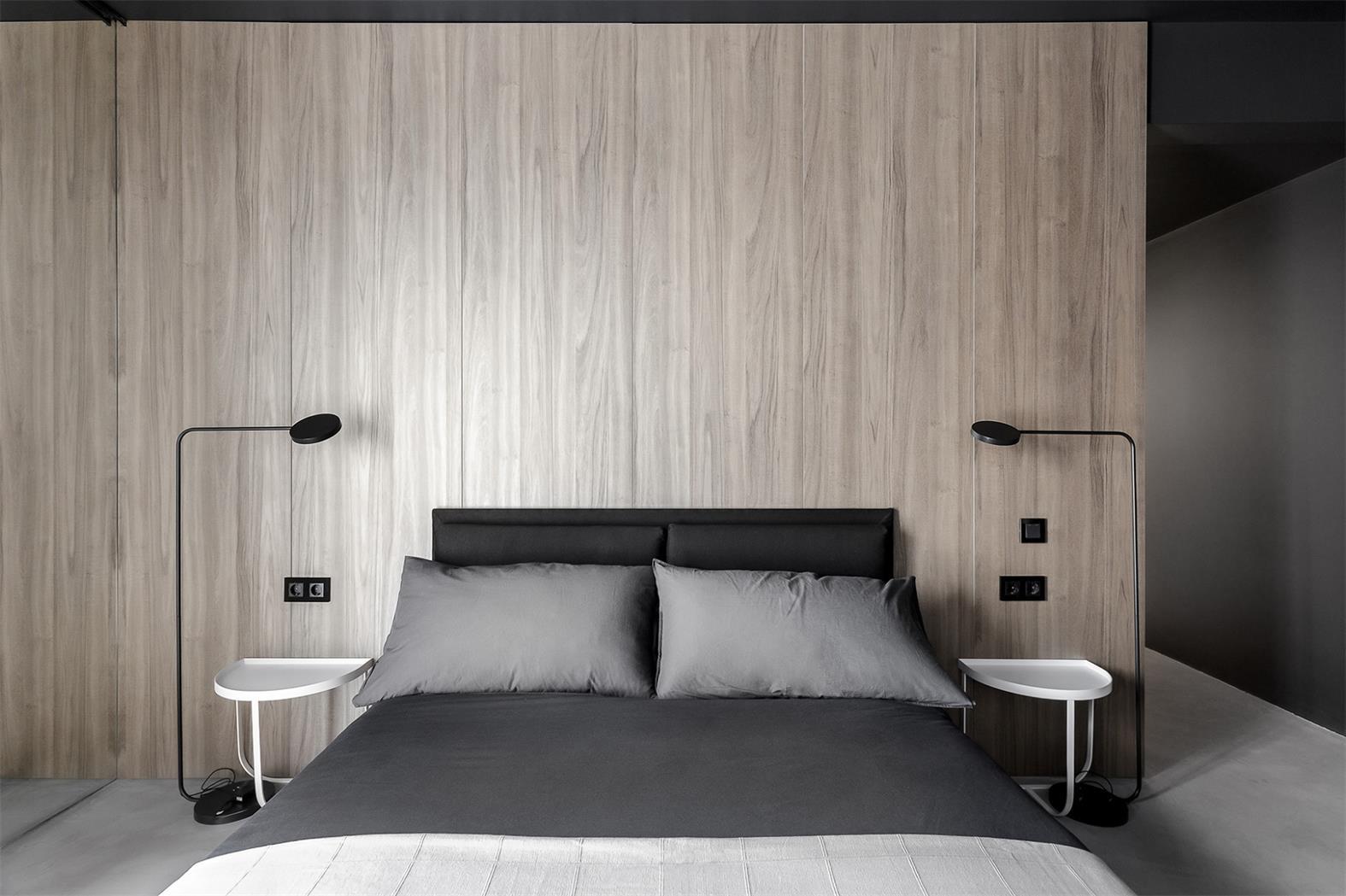 罗马尼亚灰色极简风公寓皇冠新2网