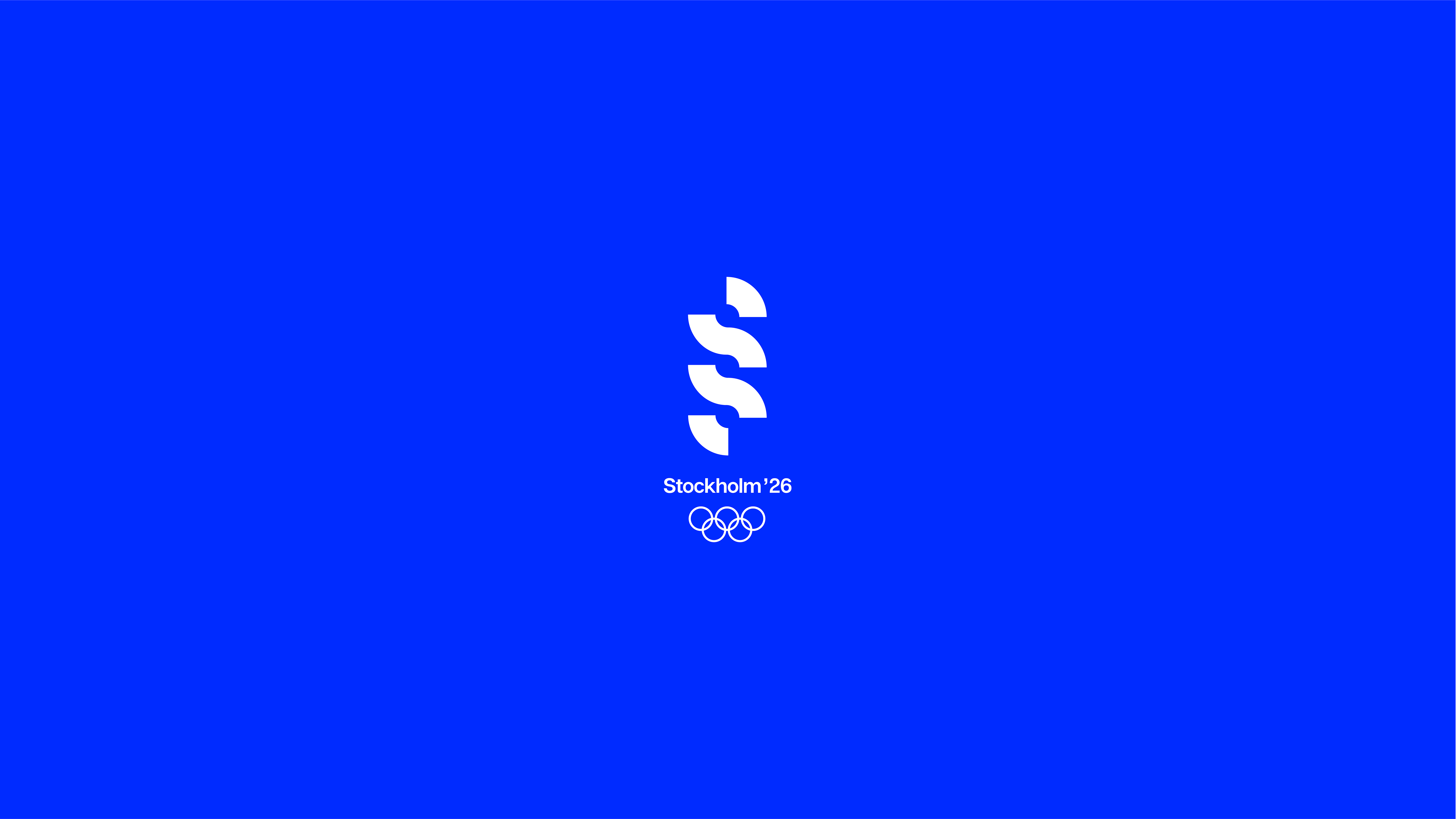 Hannah Decker:斯德哥尔摩2026冬奥会概念VI设计