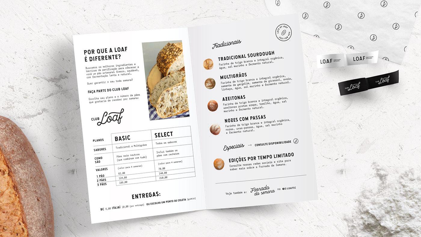 LOAF面包店品牌形象设计