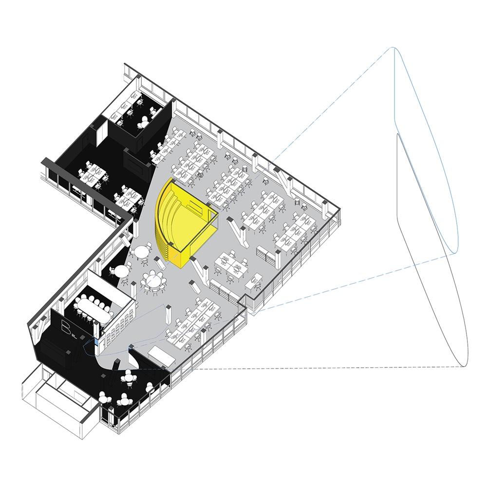 布拉格DDB创意机构办公室空间设计