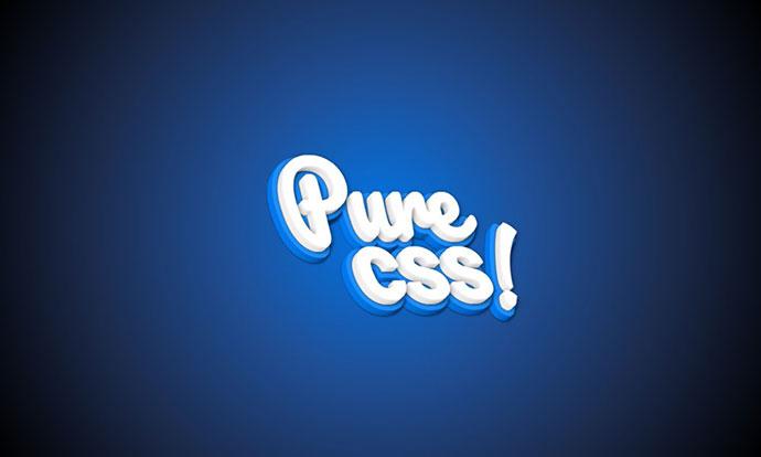 25个漂亮的CSS 3D文字特效