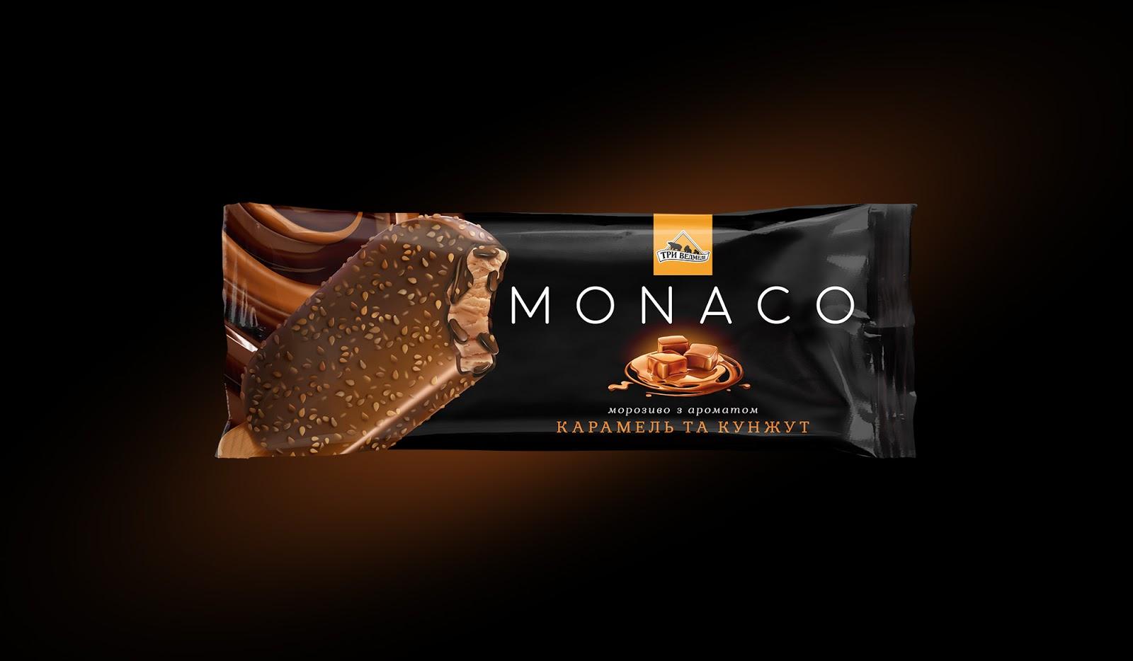 MONACO冰棒包装设计