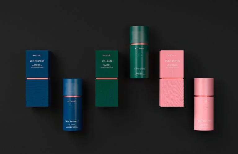 Microme化妆品包装设计